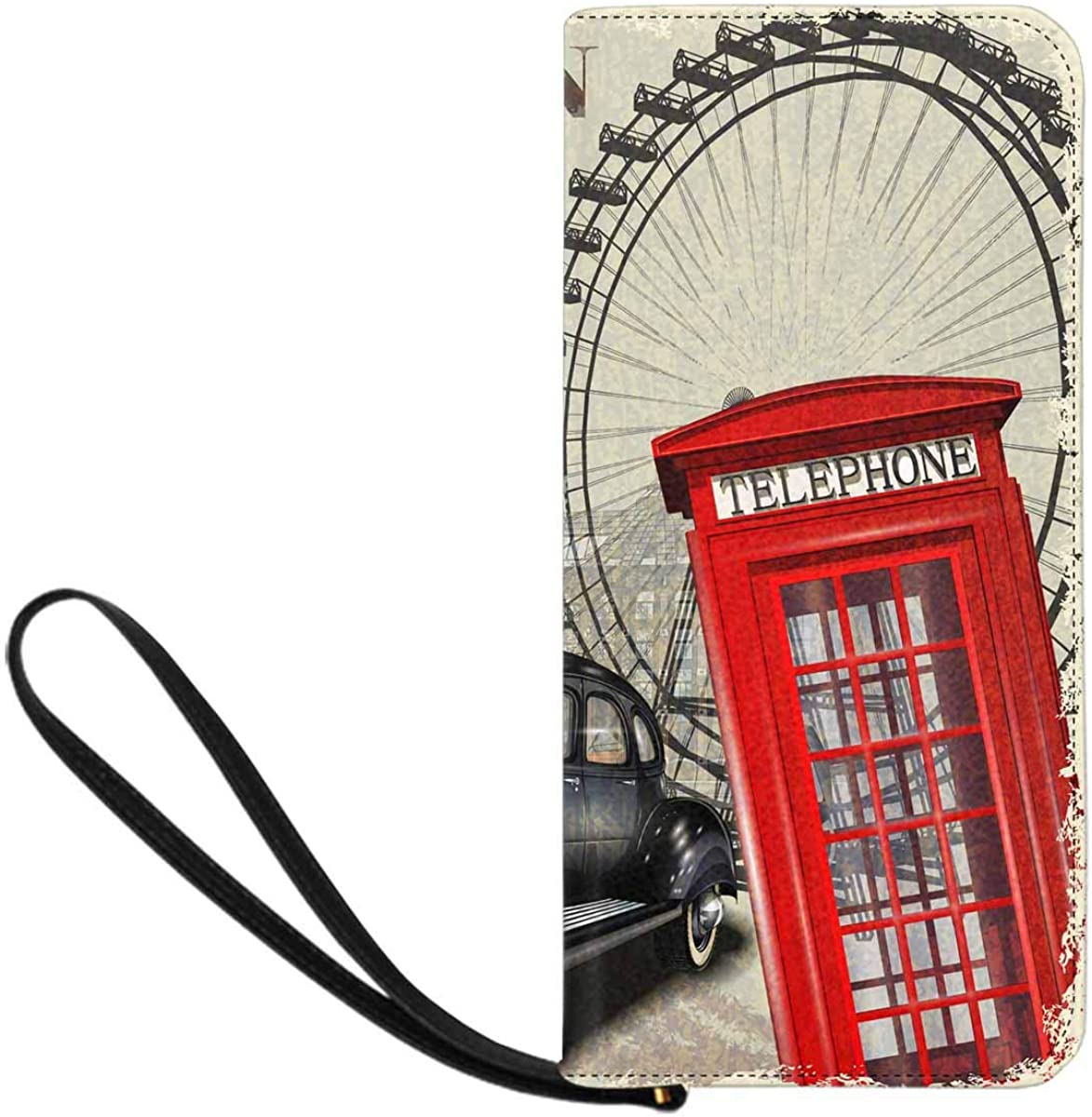 InterestPrint Womens London Tower Bridge Clutch Purse Card Holder Organizer Ladies Purse
