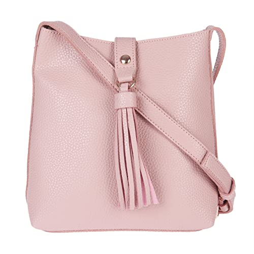 4b4cb6ac4b Image Unavailable. Image not available for. Colour  FUR JADEN Women s PU Pink  Sling Bag