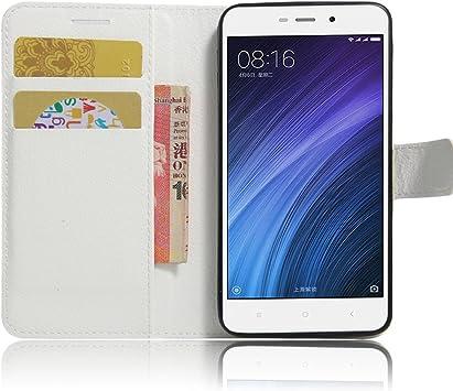 OFU? Para Xiaomi Redmi 4A Funda,Cartera Cuero Funda de Piel ...