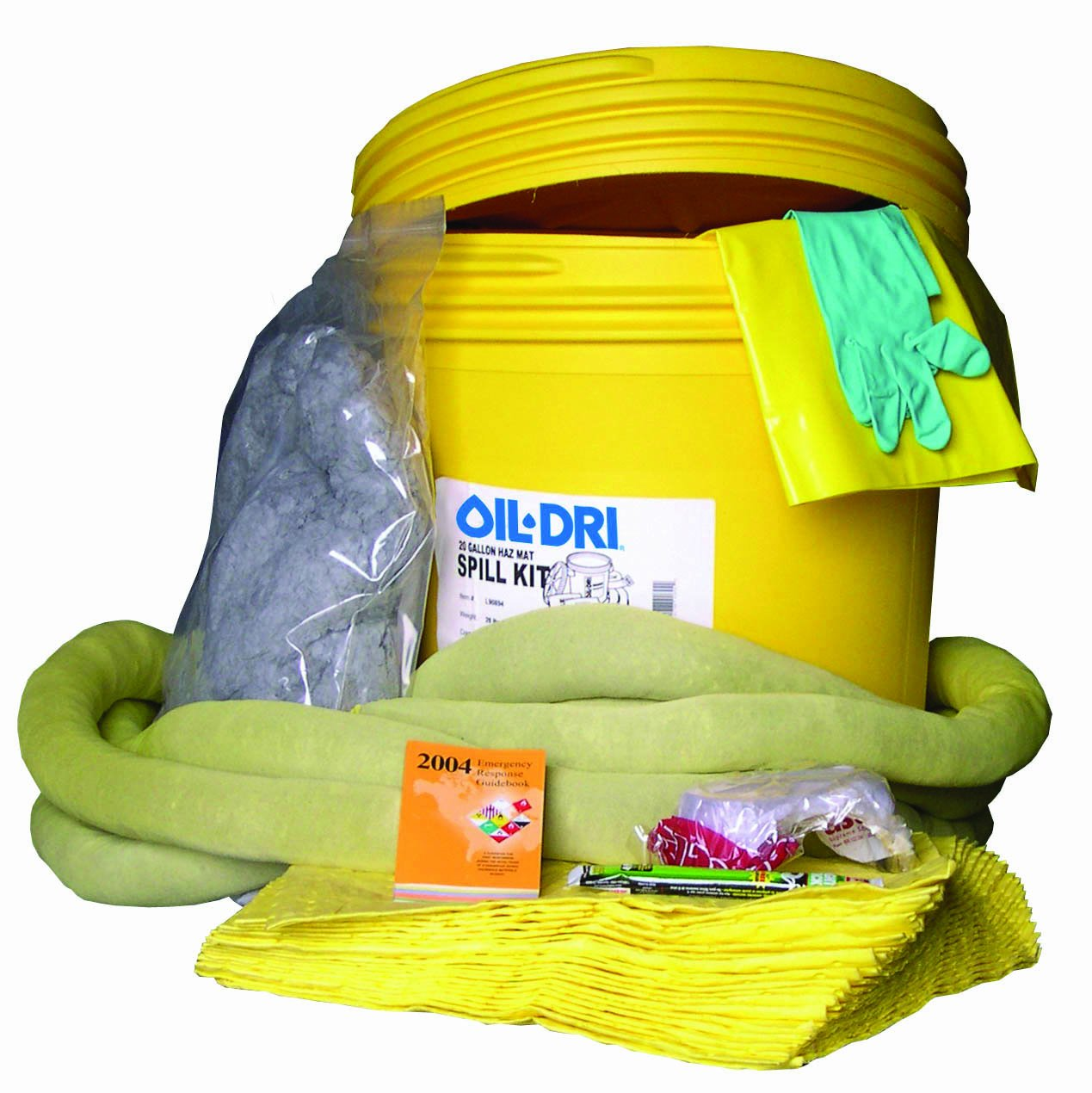Oil-Dri L90894 20 gallon Hazardous Material Spill Kit: Industrial Spill Response Kits: Industrial & Scientific