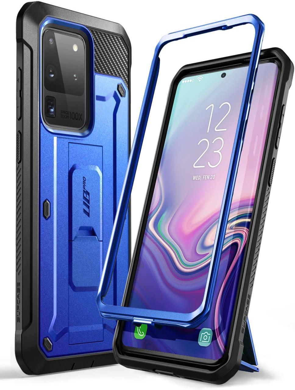 Funda Cuerpo Completo Samsung S20 Ultra Supcase ub pro azul