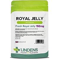 Lindens Capsule di pappa reale da 150 mg | 100 Confezione | Diffuso integratore alimentare in una capsula a rilascio rapido facile da ingerire