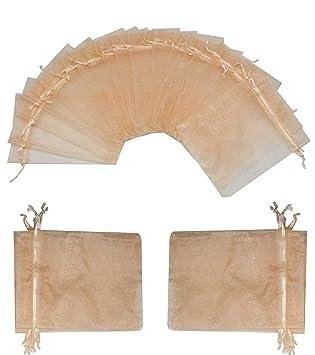Amazon.com: Wuligirl - Bolsas de regalo de organza con ...