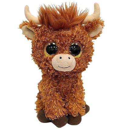 Ty Beanie Babies Boos Angus the Scottish Highland Cow  Amazon.co.uk  Toys    Games 0739c84e7c07