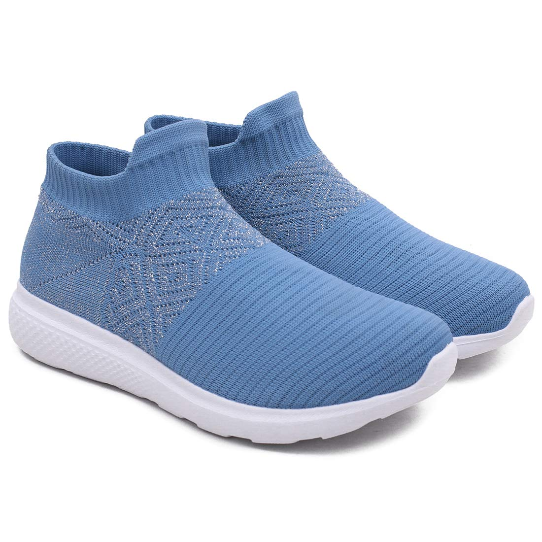 ASIAN Women's Fancy-01 Sky Blue Walking Shoes, Shoes,Sports Shoes, Fabric Sports Shoes (UK-5) (B07VL52NDZ) Amazon Price History, Amazon Price Tracker