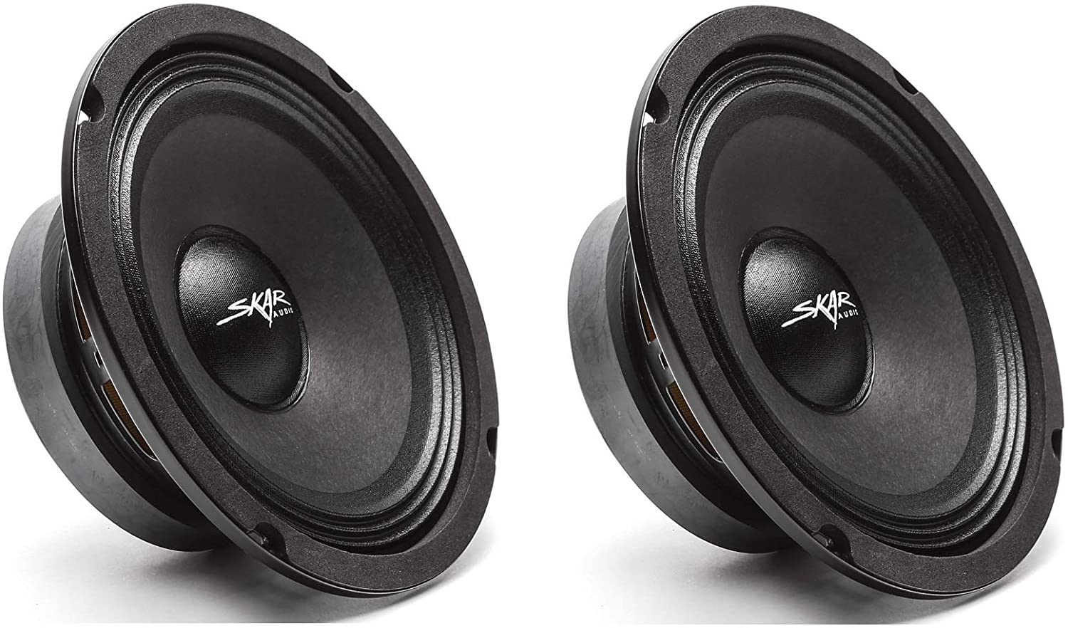 (2) Skar Audio FSX65-4 300-Watt 6.5-Inch 4 Ohm MID-Range Loudspeakers - 2 Speakers 71cMpJzUr2L