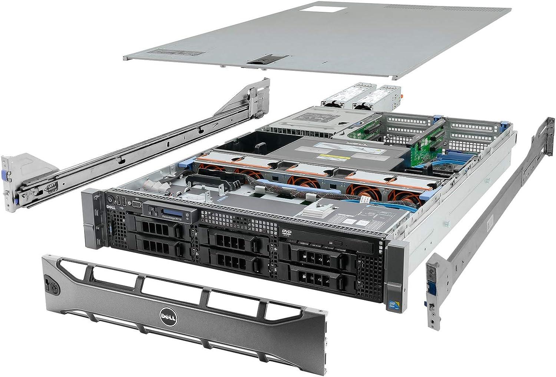 Dell High-End PowerEdge R710 Server 2x 2.93Ghz X5670 6C 144GB 6x 2TB (Renewed)