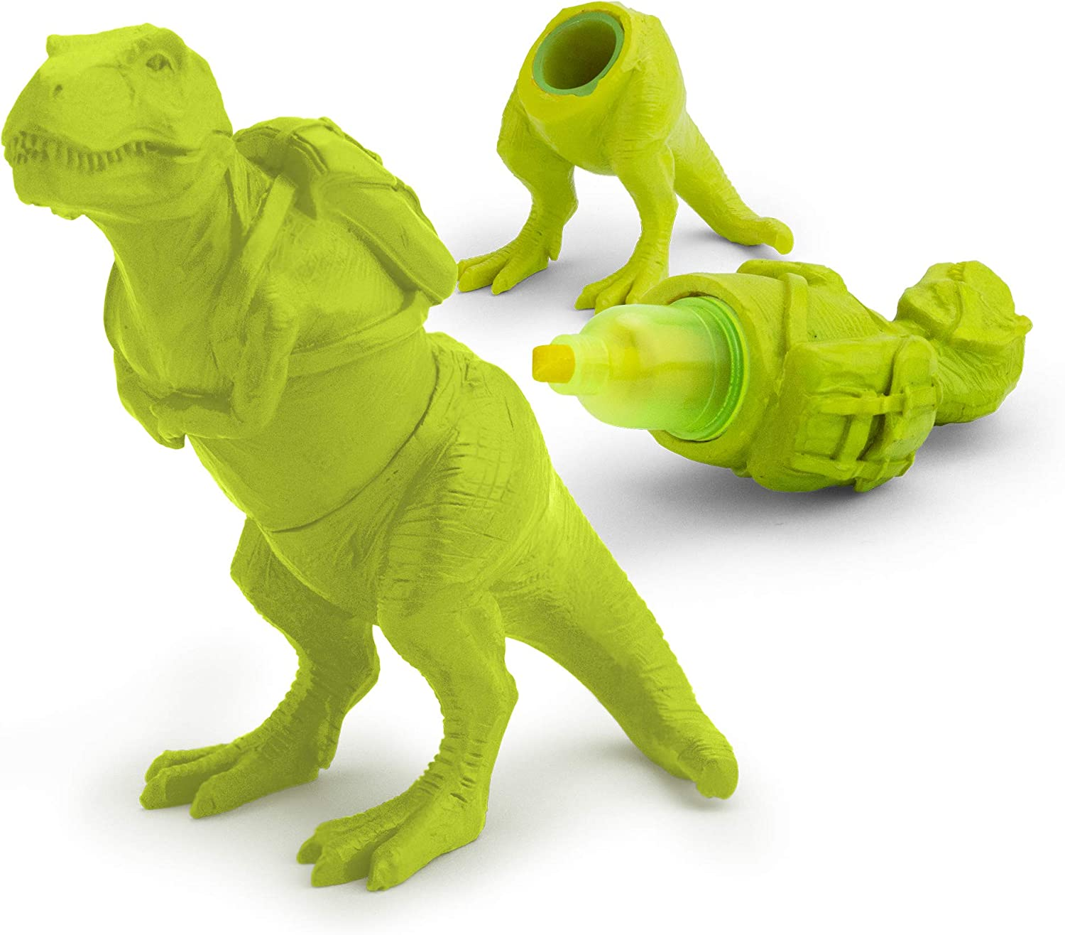 MUSTARD T-Rex Highlighter, Lime (M16115B)