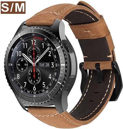 MroTech Correa Galaxy Watch 46mm Cuero Piel Compatible para ...