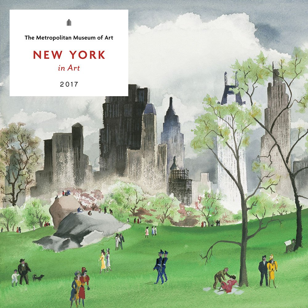 New York In Art 2017 Wall Calendar The Metropolitan Museum Of Art