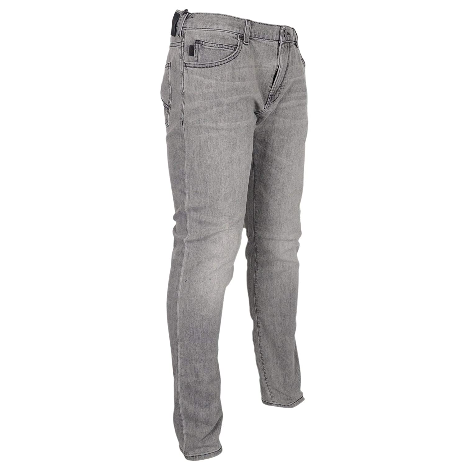 ac556912 Emporio Armani J10 Extra Slim Fit Denim Grey Jeans at Amazon Men's ...