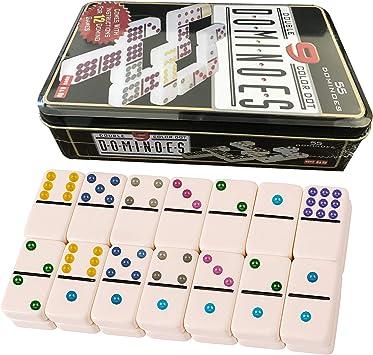 Domino Doble 9. Niños y adultos Juego de táctica - Juego de Mesa ...