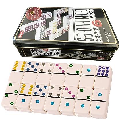 Domino Doble 9. Niños y adultos Juego de táctica - Juego de Mesa (Juego de táctica, Niños y adultos,Niño/niña, 5 año(s), 99 año(s))