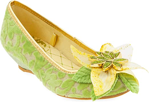 Disney Belle Costume Shoes for Kids Size 11//12 Yellow