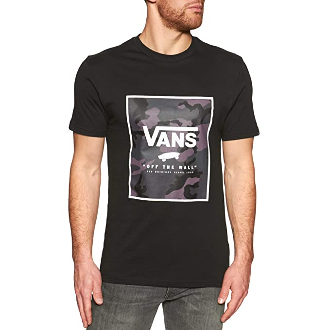 0ba3fa7025 Vans Men s Print Box T-Shirt  Vans  Amazon.co.uk  Clothing