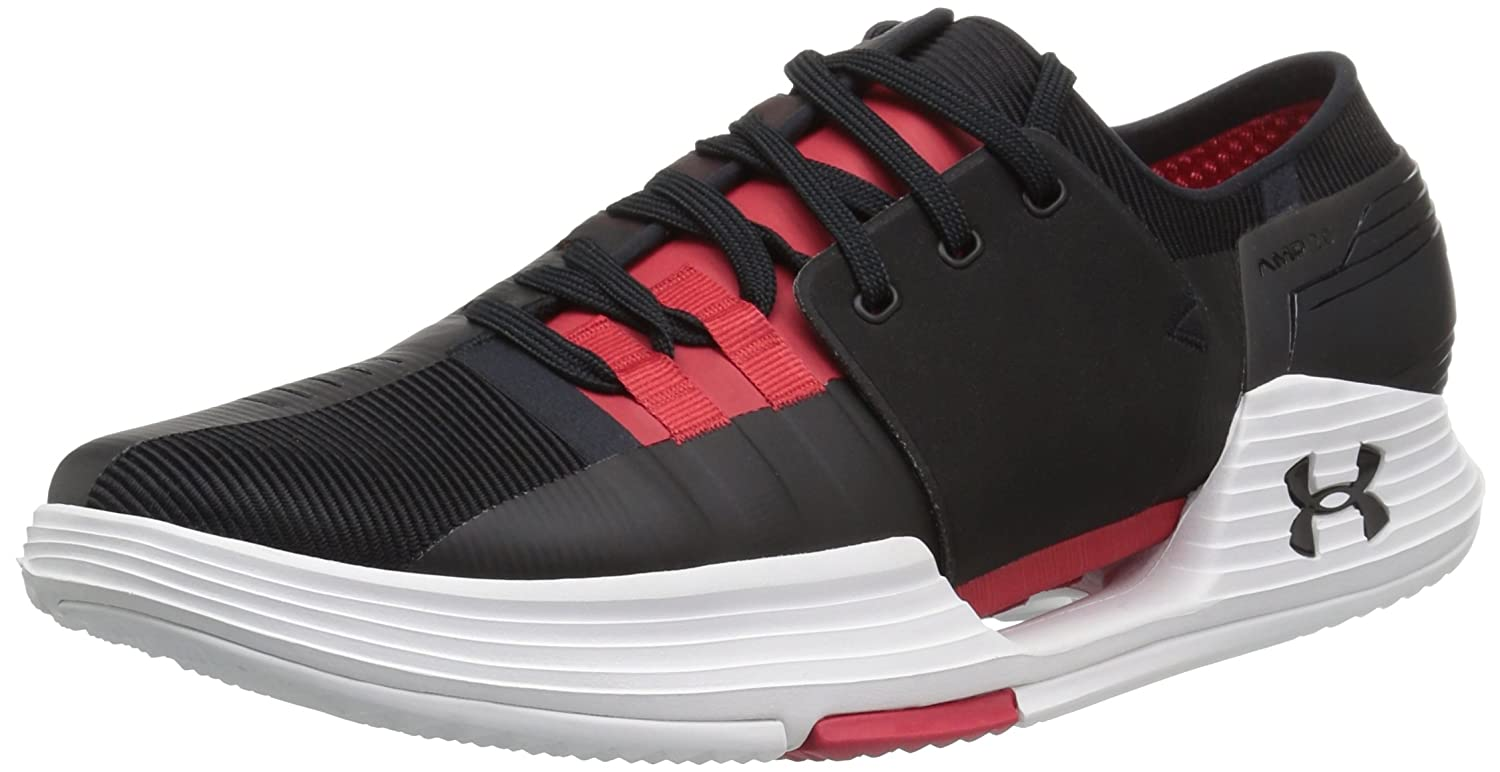 Under Armour Herren UA Speedform AMP 2.0 Trainer - Schwarz/Rot - UK 12
