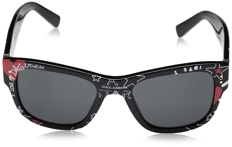 Amazon.com: Dolce & Gabbana Graffiti DG 4338 grafiti negro ...