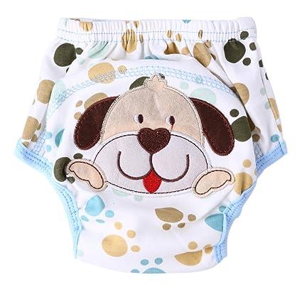 domybest Unisex Baby – Pantalones de entrenamiento para el orinal para bebé ropa interior gamuza de