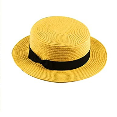 Straw Beach Hat for Mother Kids Panama Hats Straw Hat Snapback Gorras 1 Adult