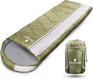 """Camping Sleeping Bags for Adults and Kids - Lightweight, Comfortable & Waterproof Sleeping Bag for Hiking, Camping, Traveling (82.7""""X30.7"""")"""