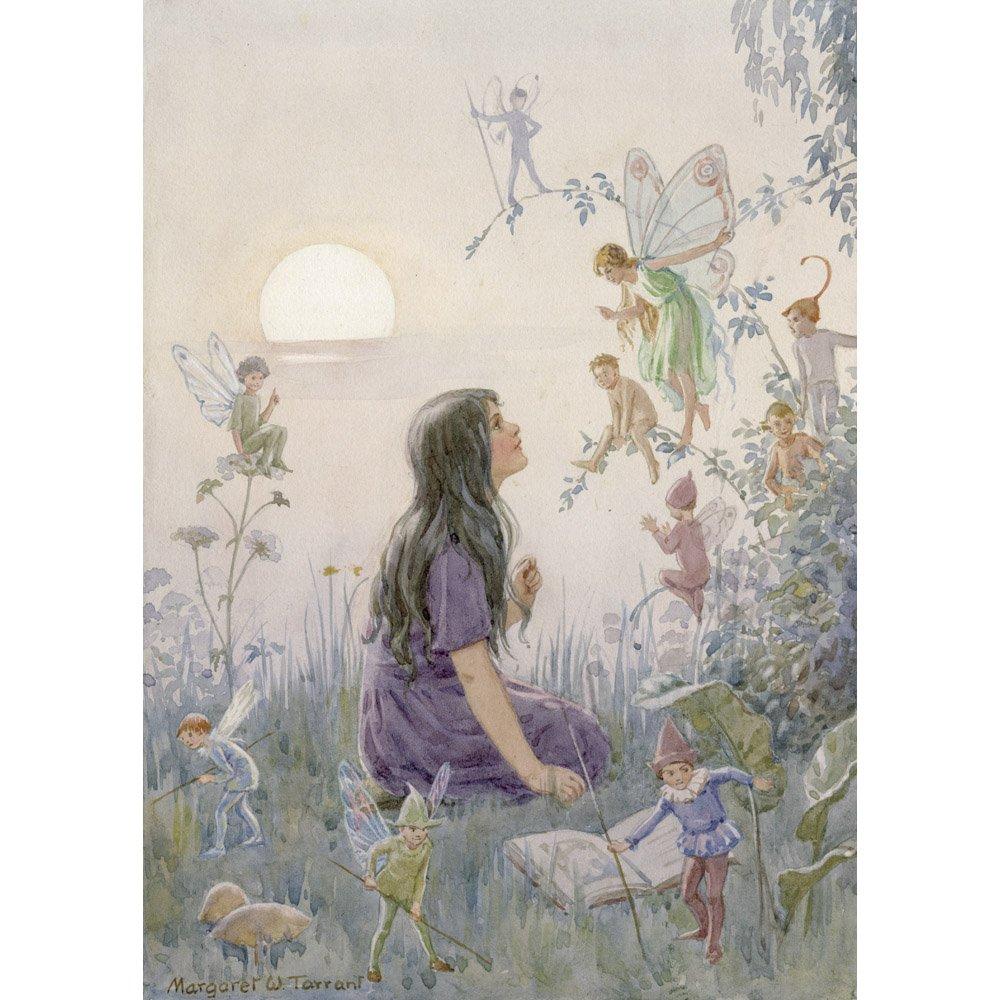 Fairy Secrets, Margaret Tarrant - Medici Print The Medici Society Limited