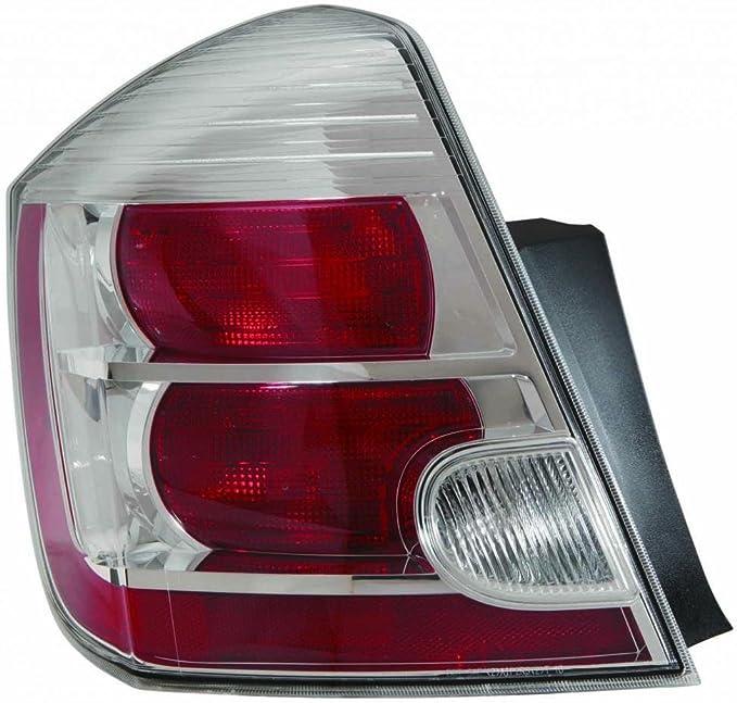 Depo 315-1938PXAS2 Nissan Altima Black LED Tail Light