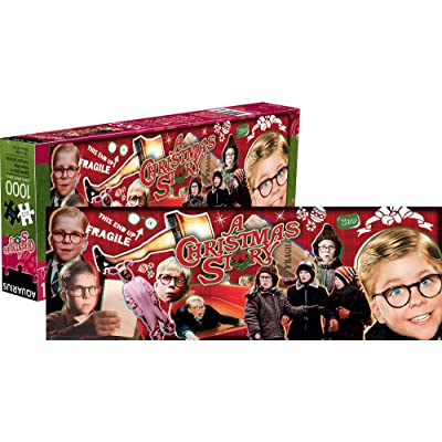Aquarius A Christmas Story 1, 000 Pc Slim Puzzle: Toys & Games