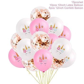 Amazoncom Foil Unicorn Balloons Decorations Kids Happy Birthday