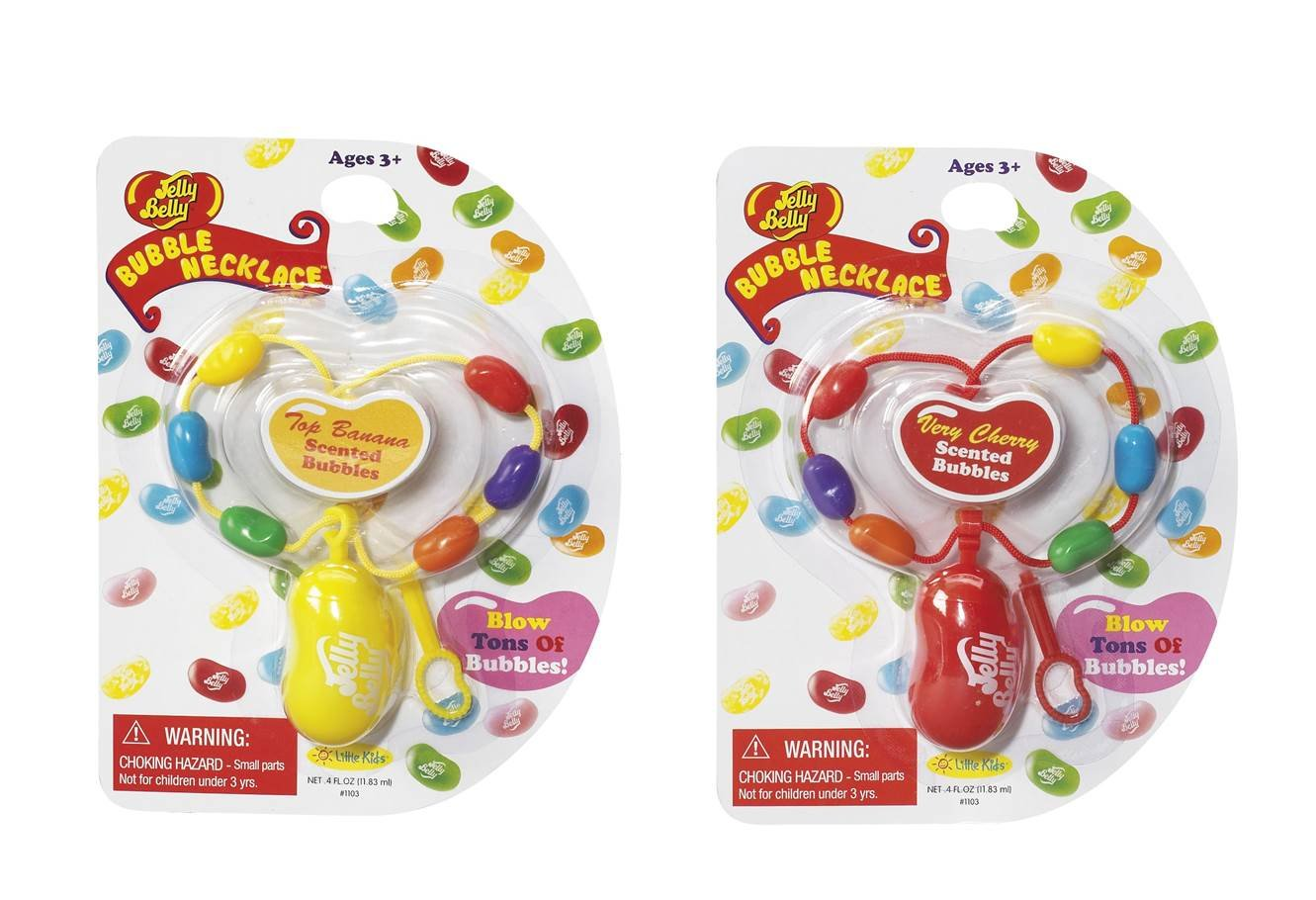 6-Ounce, 8-Pack Little Kids Jelly Belly  Scented Bubbles 99604