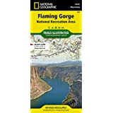 Flaming Gorge National Recreation Area (National Geographic Trails Illustrated Map, 704)