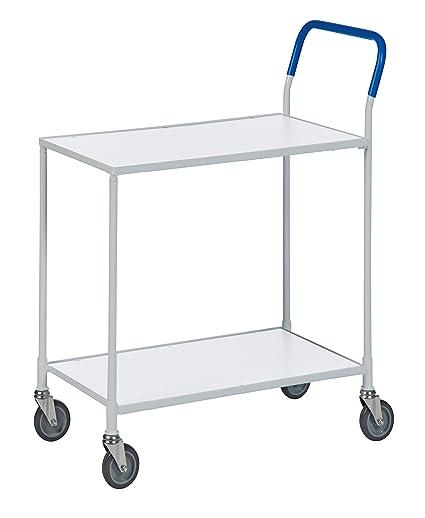 Mesa Piso carro carrito | estrecho carro carro transporte material carro con 2 estantes