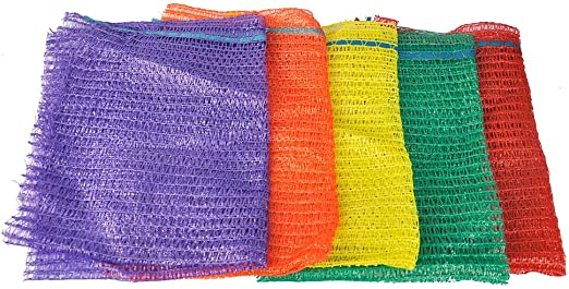 25 NET SACKS VEGETABLES LOGS KINDLING WOOD LOG MESH BAGS CARROT ONIONS POTATO