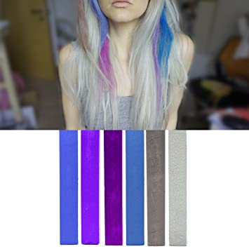 Amazon Com Best Smokestack Ombre Hair Dye Set Blue Violet