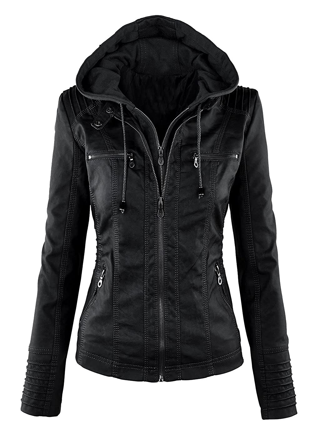7c18337c Material: 100% Premium Faux leather with A1 Quality / 100% Polyester lining  | Brand New Jacket