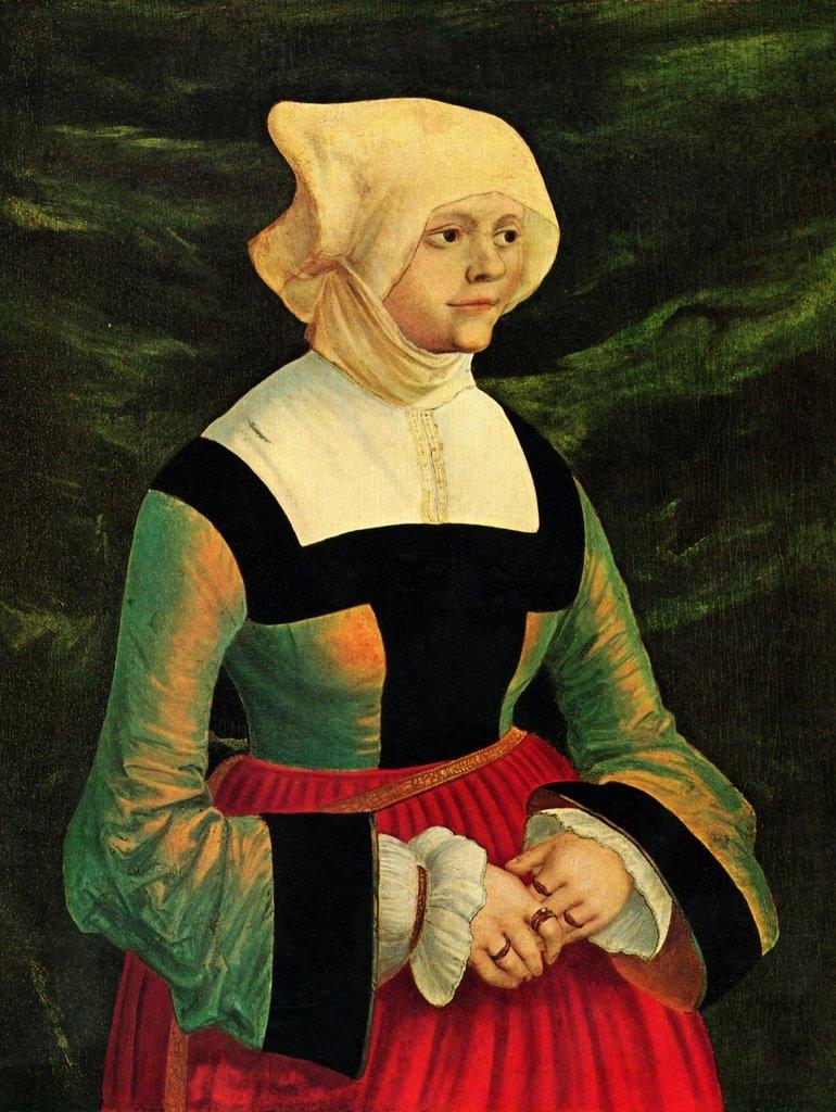 Lais Puzzle Albrecht Altdorfer - Porträt einer Frau 2000 Teile