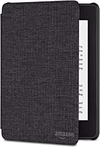 Kindle Paperwhite Water-Safe Fabric Cover (10th Generation-2018) - Charcoal Black