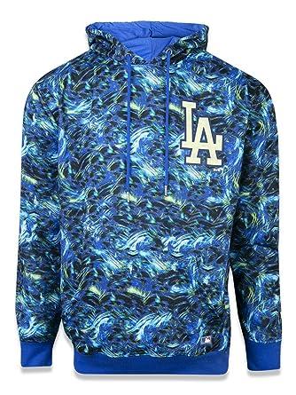MOLETOM CANGURU FECHADO LOS ANGELES DODGERS MLB NEW ERA  Amazon.com ... aa143a829de