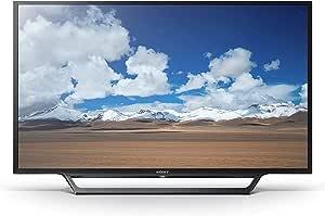 تلفزيون ليد ذكي مقاس 32 بوصة من سوني بلون اسود - KDL32W600D