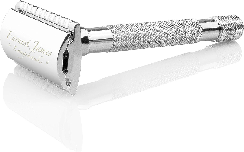 Maquinilla de afeitar de seguridad, doble filo ext larga
