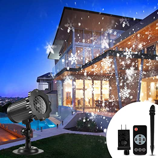 Amazon.com: Proyector de luces de Navidad al aire libre, B ...