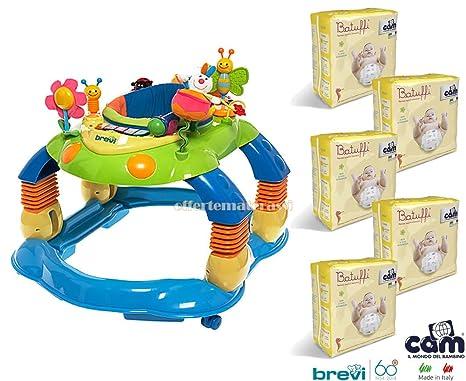 Brevi giocagiro 3 in 1 tacatá + 100 Pañales Cam Talla 4 maxi 8 ...