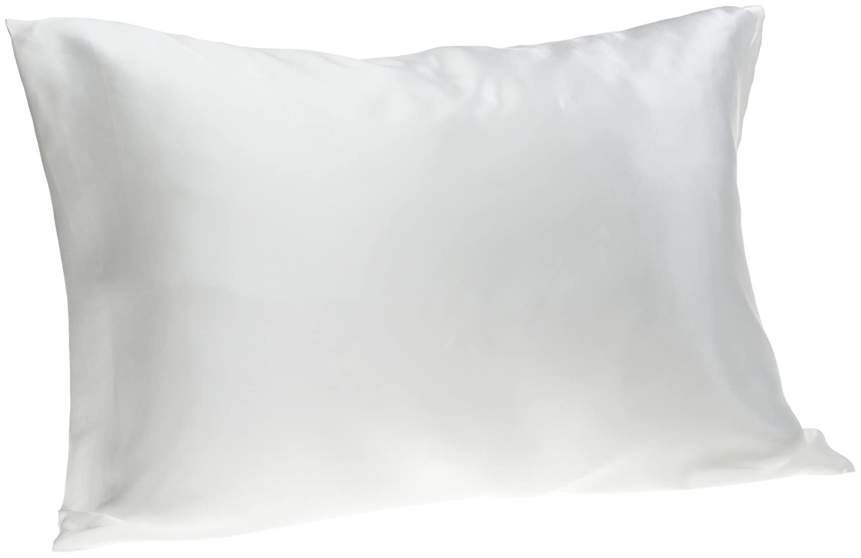 amazoncom spasilk  pure silk pillowcase for facial beauty  - amazoncom spasilk  pure silk pillowcase for facial beauty and hairhealth standardqueen white home  kitchen
