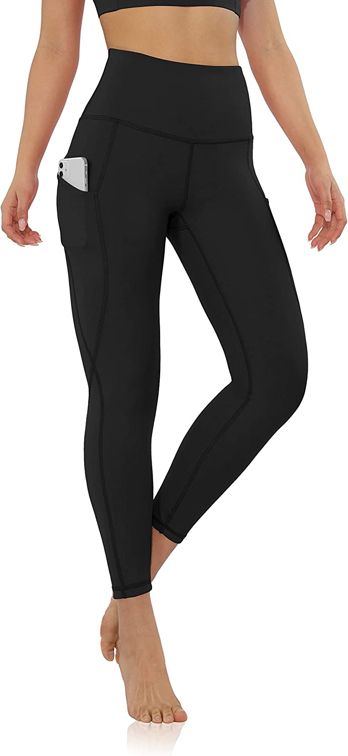 Amazon.com: ODODOS Women's High Waisted Yoga Leggings with Pocket, Workout Sports Running Athletic Pants with Pocket: Clothing