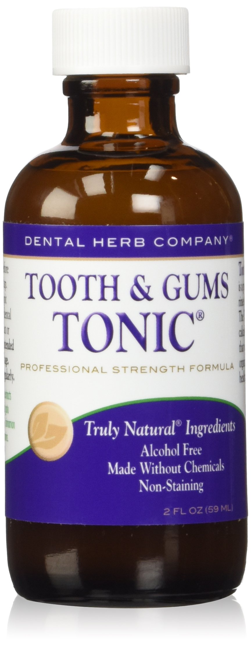 Dental Herb Company DHC-TGTTS Tooth and Gums Tonic -professional strength formula,(alcohol free) 2 oz.