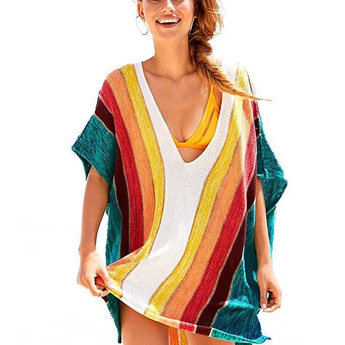 fb720e04b1238 Image Unavailable. Image not available for. Color  Womens Beach Swimsuit  Cover up ...