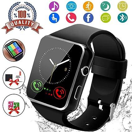 Amazon.com: Reloj inteligente, reloj inteligente con ...