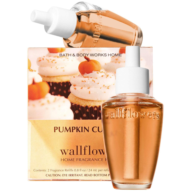 Bath & Body Works Pumpkin Cupcake Wallflowers Home Fragrance Refills, 2-Pack (1.6 fl oz total) by Bath & Body Works (Image #1)