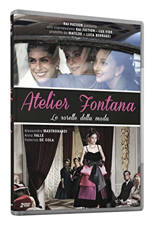 Atelier Fontana Streaming.Amazon It Atelier Fontana Le Sorelle Della Moda 2 Dvd