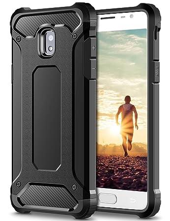 Coolden Samsung Galaxy J5 2017 Hülle, Premium [Armor Serie] Outdoor Stoßfest Schutzhülle Tough Silikon + Hard Bumper Militärs