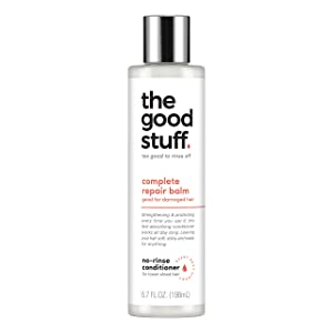 The Good Stuff Deep Conditioner For Damaged Hair Complete Repair Balm No-Rinse Vegan Conditioner 6.7 oz